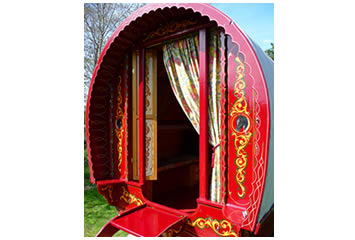 Cherry Red Bow Top                   Gypsy Caravan